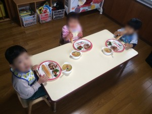 クリスマスお楽しみメニュー1